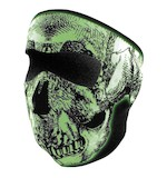 Zan's Glow In The Dark Neoprene Full Face Mask