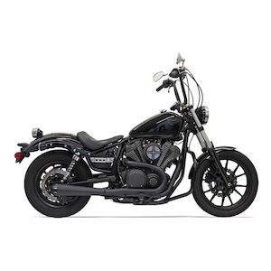 Bassani Road Rage 2-Into-1 Exhaust For Yamaha Bolt 2014-2018