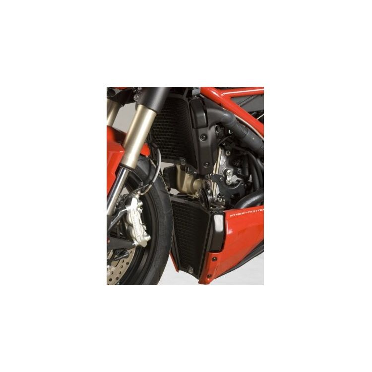 R&G Racing Radiator Guard Set Ducati Streetfighter 848 2011-2015