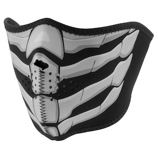 Zan's Glow In The Dark Neoprene Half Mask