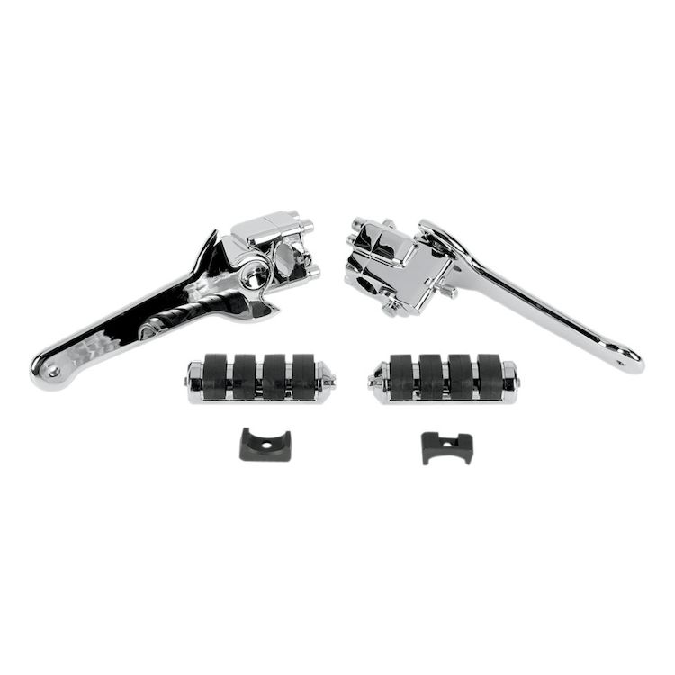 Kuryakyn Adjustable Passenger Peg Kit For Harley CVO Touring 2004-2006