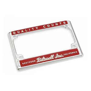 Biltwell License Plate Frame