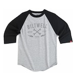Biltwell X Wrenches Baseball 3/4 Sleeve Jersey T-Shirt