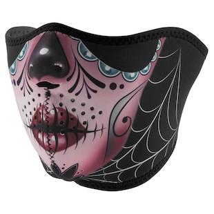 Zan's Skull Neoprene Half Mask