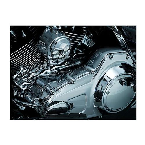 Chopper Primary Cover : Kuryakyn deluxe inner primary cover for harley touring