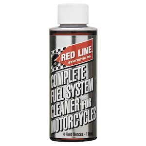 Red Line Complete Fuel System Cleaner for Motorcycles