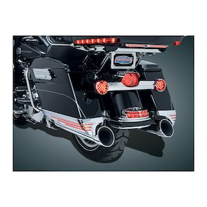 Kuryakyn LED Saddlebag Extensions For Harley Touring 1993-2013