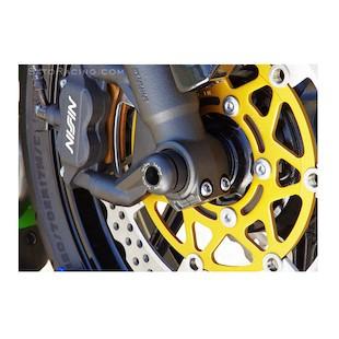 Sato Racing Front Axle Sliders Kawasaki ZX6R / ZX636 2013-2015