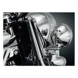 Kuryakyn Custom Tie-Down Brackets For Harley Softail 1986-2017