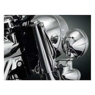 Kuryakyn Custom Tie-Down Brackets For Harley Softail 1986-2017