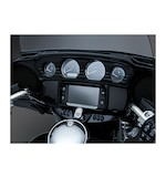 Kuryakyn Tri-Line Gauge Trim For Harley Touring / Trike 2014-2017
