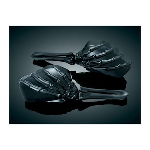 Kuryakyn Zombie Skeleton Hand Mirrors