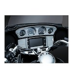 Kuryakyn Tri-Line Stereo Trim Deluxe For Harley Touring And Trike 2014-2016