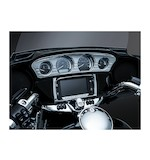 Kuryakyn Tri-Line Stereo Trim For Harley Touring And Trike 2014-2016