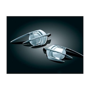 Kuryakyn Falcon Fairing Emblem Cover For Honda GoldWing GL1800 2012-2015