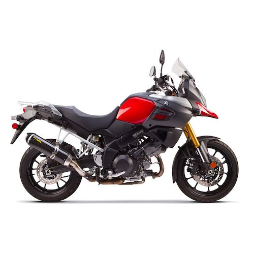 two brothers s1r slip on exhaust suzuki v strom 1000 xt. Black Bedroom Furniture Sets. Home Design Ideas