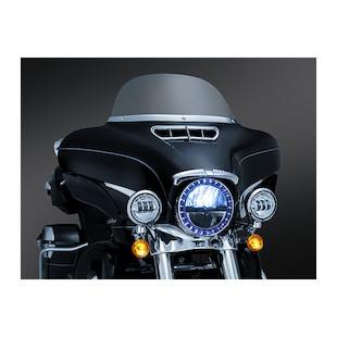 Kuryakyn Bat Brow For Harley Touring / Trike 2014-2018