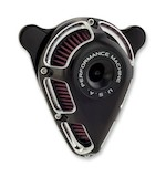 Performance Machine Jet Air Cleaner Intake For Harley