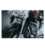 Kuryakyn Deluxe Fork Mounted Wind Deflectors For Harley Touring 1994-2013