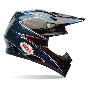 Bell Moto 9 Shards Motorcycle Helmet