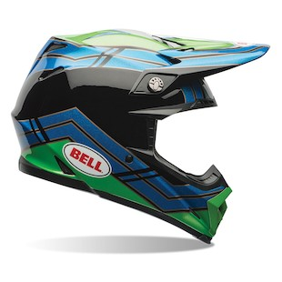 Bell Moto 9 Airtrix Stance Motorcycle Helmet