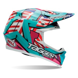 Bell Moto 9 Tagger Trouble Motorcycle Helmet