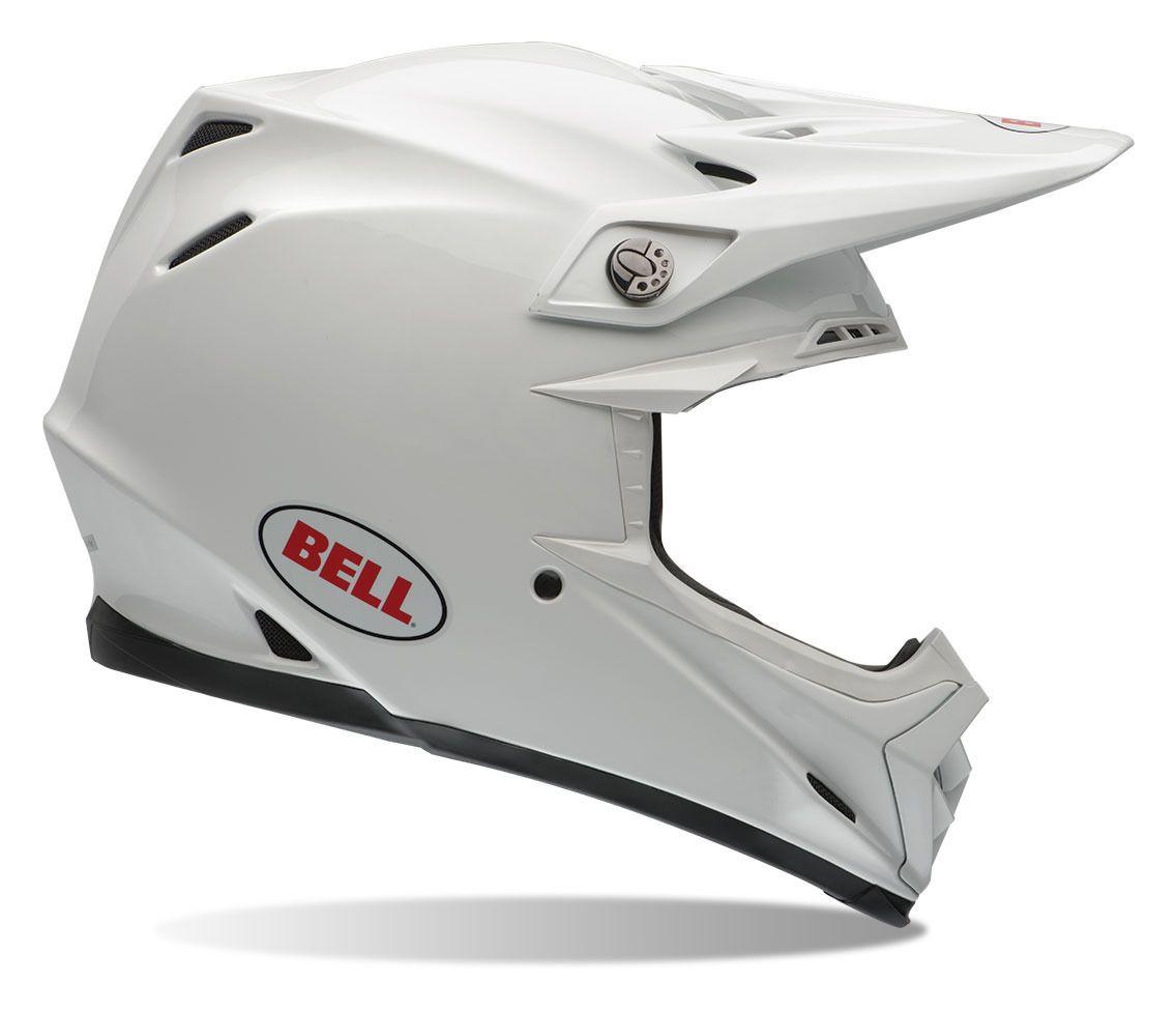 bell moto 9 helmet white revzilla. Black Bedroom Furniture Sets. Home Design Ideas
