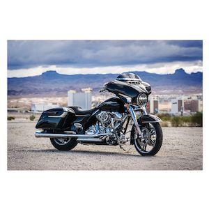 Kuryakyn LED Fairing Vent Accent for 2014-2018 Harley Touring FLHT FLHX Black
