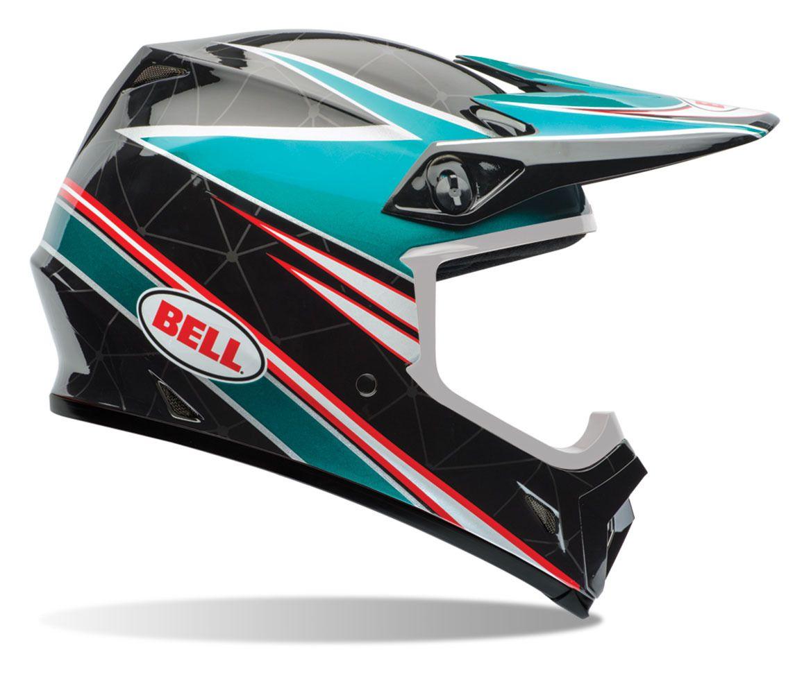 bell mx 9 airtrix paradise helmet revzilla. Black Bedroom Furniture Sets. Home Design Ideas