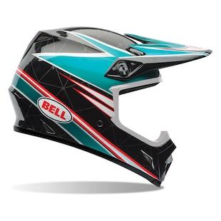 Bell MX-9 Airtrix Paradise Motorcycle Helmet