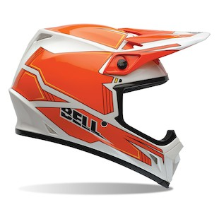 Bell MX-9 Blockade Motorcycle Helmet