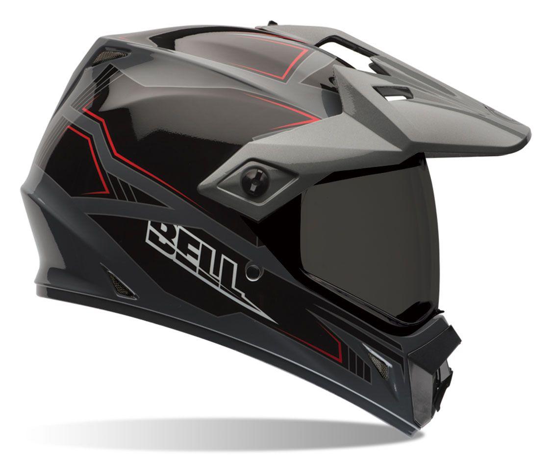 Bell Dual Sport Helmet >> Bell Mx 9 Adventure Blockade Helmet Revzilla