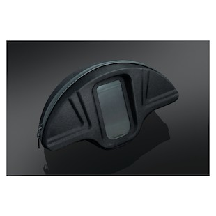 Kuryakyn Single Pocket Smartphone Windshield Bag For Harley Touring 1996-2013