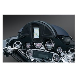 Kuryakyn Single Pocket Smartphone Windshield Bag For Harley Touring 1996-2013