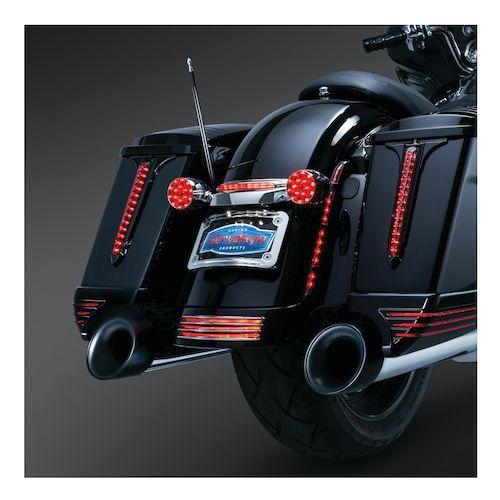 kuryakyn led rear light conversion kit for harley road. Black Bedroom Furniture Sets. Home Design Ideas