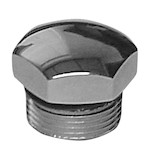 Colony Chrome Trans Plug For Harley 4-Speed Transmission 1940-1986