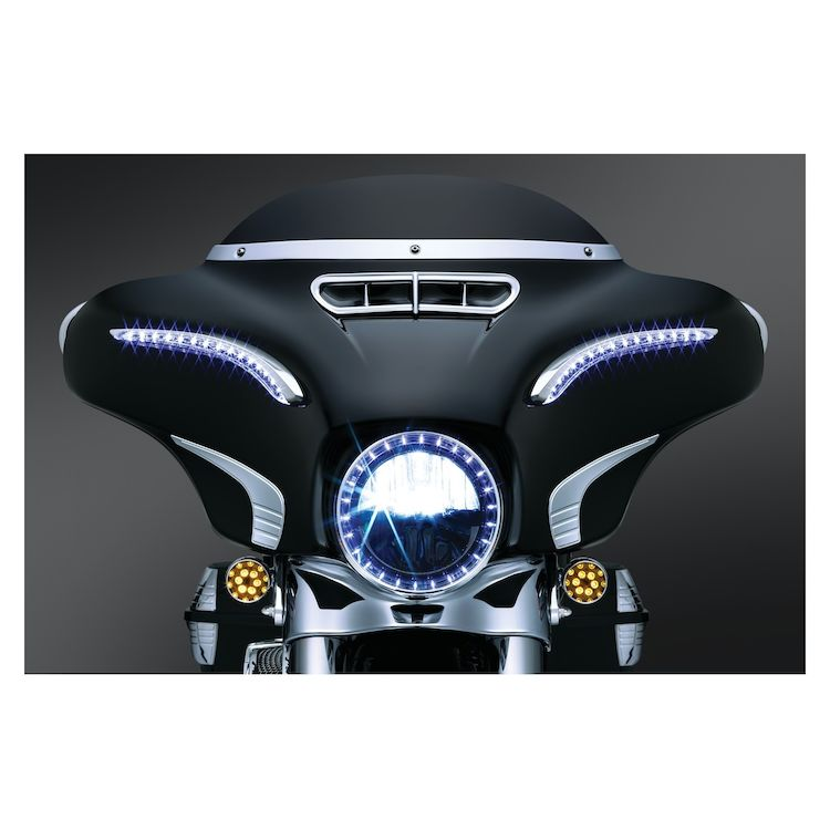 Kuryakyn LED Bat Lashes For Harley Touring 2014-2019