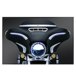 Kuryakyn LED Bat Lashes For Harley Touring 2014-2016