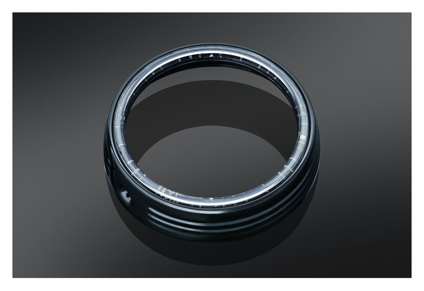 Kuryakyn LED Halo 7 Headlight Trim Ring For Harley  -> Wandleuchte Led Ring