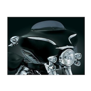 Kuryakyn Bat Brow For Harley Touring / Trike