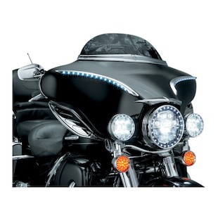 Kuryakyn LED Bat Lashes For Harley Touring / Trike