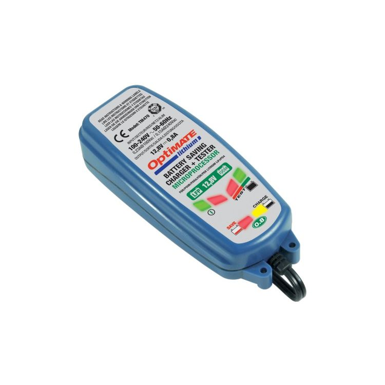 TecMate Optimate Lithium 0.8A Battery Charger