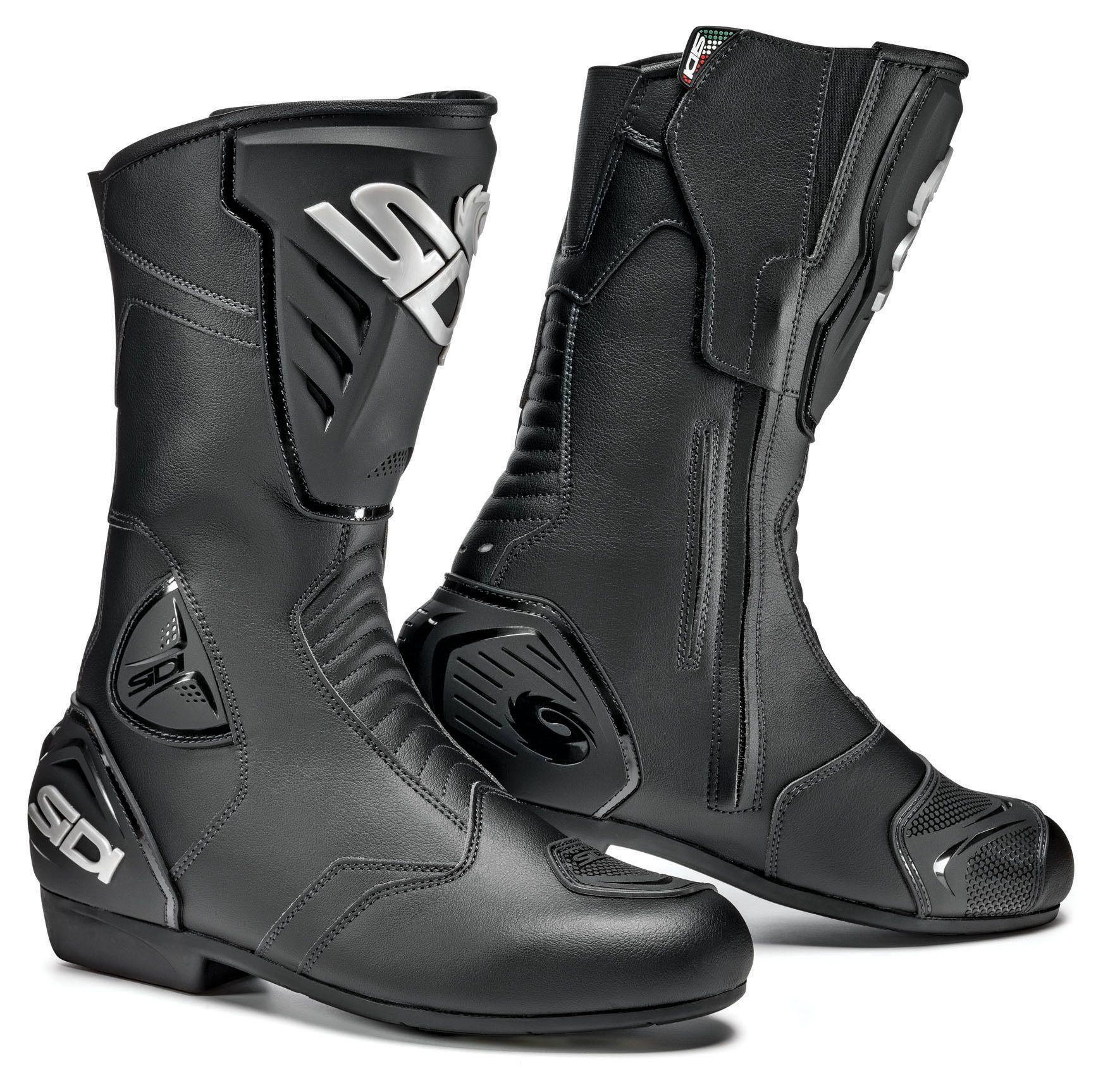 Sidi Black Rain Boots Revzilla