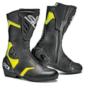 SIDI Black Rain Hi-Viz Boots