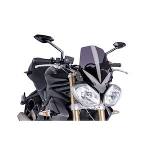 Puig Naked New Generation Windscreen Triumph Street Triple / R / Speed Triple / R