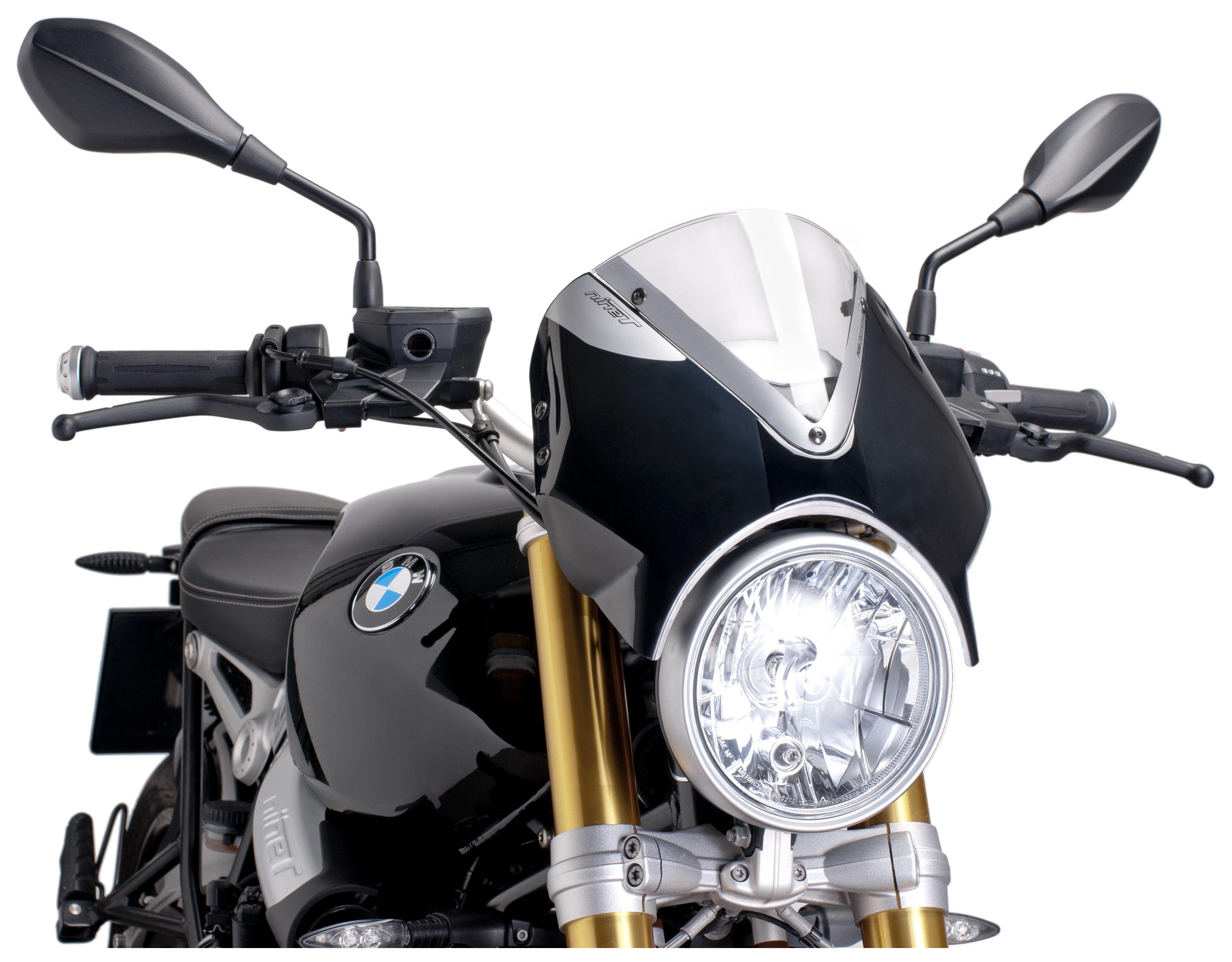 puig naked new generation windscreen bmw r nine t 2014-2017 - revzilla