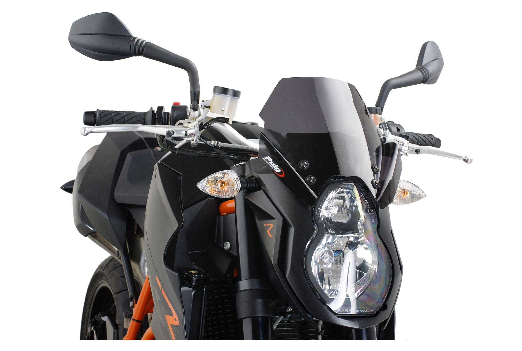 Puig Naked New Generation Windscreen KTM 990 Super Duke R 2007 2012
