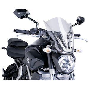 Puig Naked New Generation Windscreen Yamaha FZ-07 2015-2017