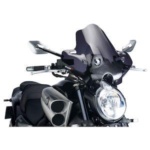 Puig Naked New Generation Windscreen Yamaha Vmax 1700 2009-2015