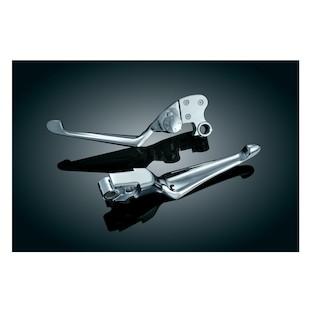 Kuryakyn Boss Blades Brake And Adjustable Clutch Lever For Harley Sportster 2004-2013